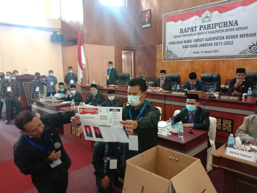 Yusrol Kalah, Dailami Terpilih Sebagai wakil Bupati Bener Meriah Sisa Masa Jabatan