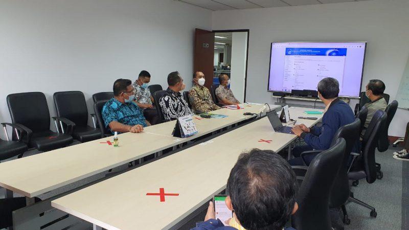 Bupati Batu Bara Ir Zahir Audiensi Dengan Menteri Komunikasi dan Informatika RI