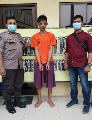 Polsek Sunggal Tangkap Pelaku Narkotika