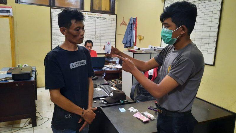 Sat Res Narkoba Tanjungbalai Ringkus Nazar Pemilik Sabu 4,45 Gram