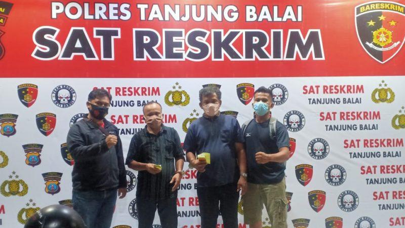 Tekab Sat Reskrim Polres Tanjungbalai Ringkus 2 Orang Juru Tulis Togel