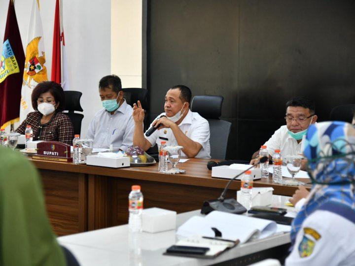 Bupati Batu Bara Pimpin RUPS PT. Pembangunan Batra Berjaya