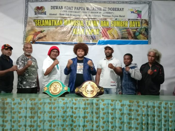 Petinju Kelas Dunia Asal Tanah Papua Geisler Ap Akan Bertanding Merebut Gelar WBA Asia Pasifik, Mari Beri Dukungan