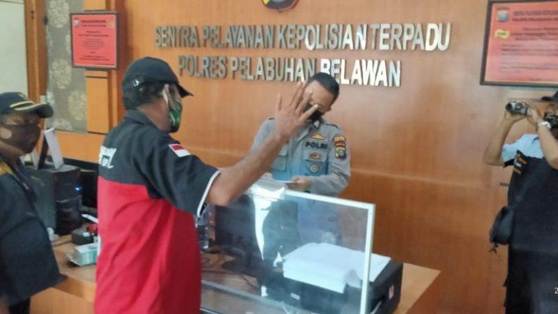 Kasus Dugaan Pengancaman Wartawan Mau Dikampak, Kini Resmi Dilaporkan Ke Polisi