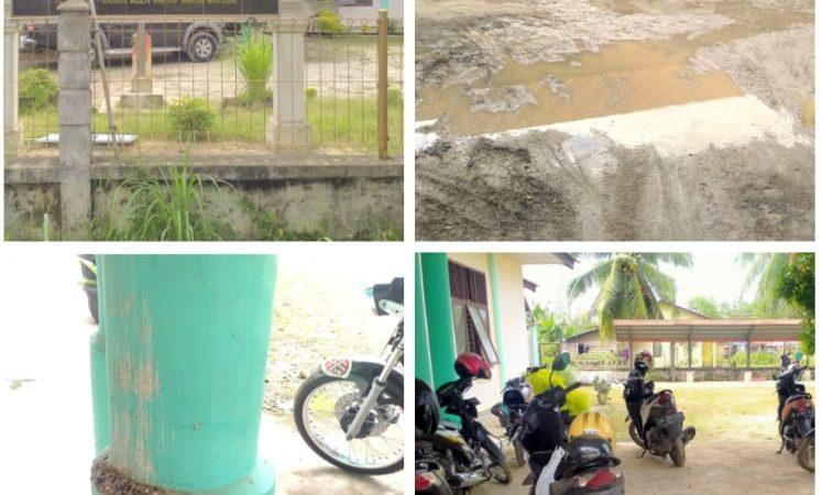 Tidak Terawat dan Kelihatan Kumuh, Kantor Kecamatan Birem Bayeun Kumuh Jadi Sorotan Awak Media