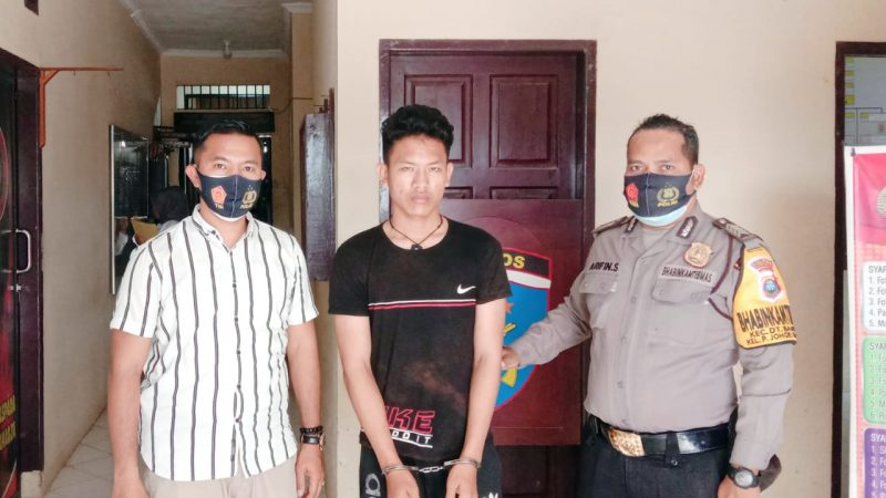 Gas Septor Seorang Pelajar, Terpaksa Berurusan Kapolsek Datuk Bandar Polres Tanjungbalai
