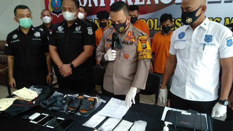 Polrestabes Medan Ungkap Kasus Sindikat Narkoba