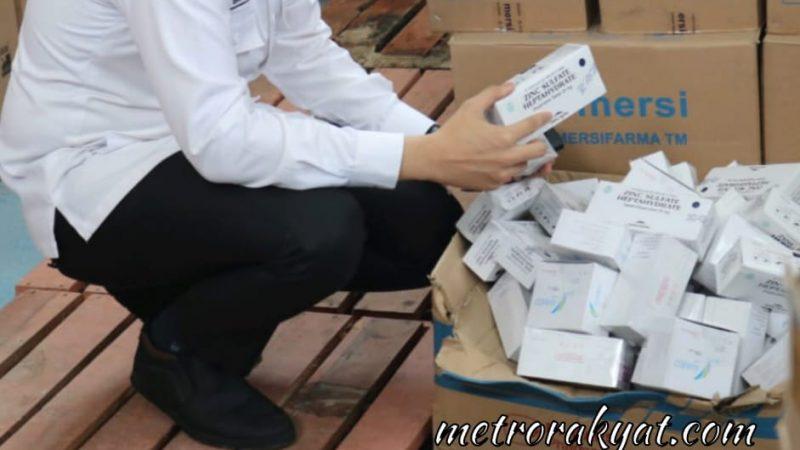 Ketua DPRD Sergai Tinjau Gedung UPT.Instalasi Farmasi Dinkes Temukan Obat-obatan Hampir Kadaluarsa
