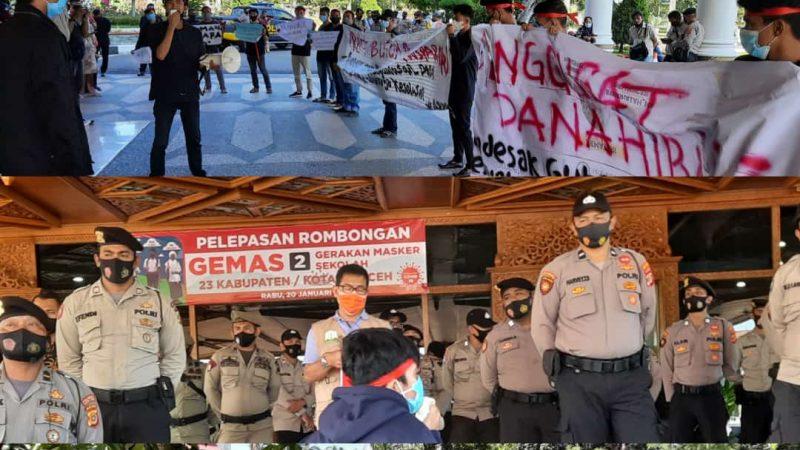 APPA Akan Demo Kembali Kantor Gubernur Aceh Jika Tuntutan Tidak Dipenuhi