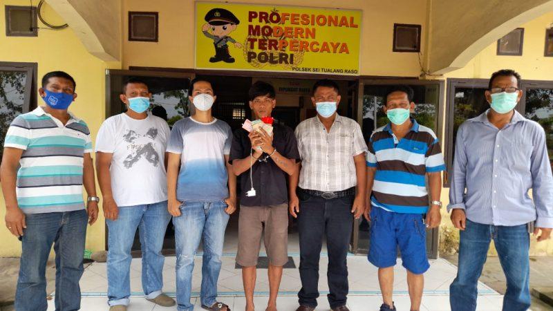 Polsek Sei Tualang Raso Polres Tanjungbalai Bekuk Pencuri, Tersangka Terekam CCTV