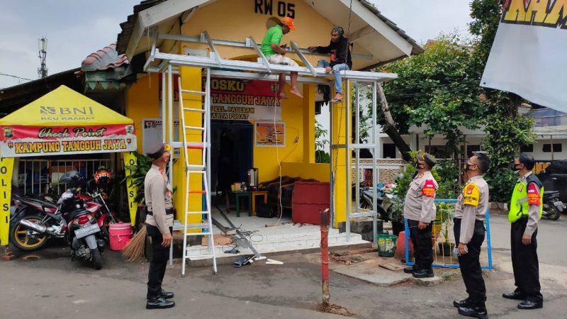 Kapolsek Senen Bersama Wakapolsek Kunjungi Kampung Tangguh