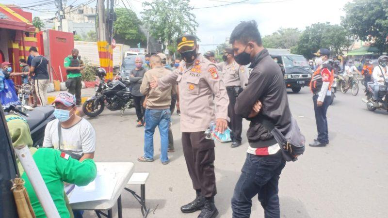 Polsek Tambora dan Aparat Gabungan Bersama Tiga Pilar Mengadakan Operasi Yustisi