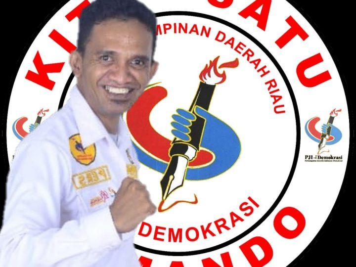 Aniaya Wartawan, Ismail Sarlata Ketua DPD PJI-Demokrasi Riau Angkat Bicara