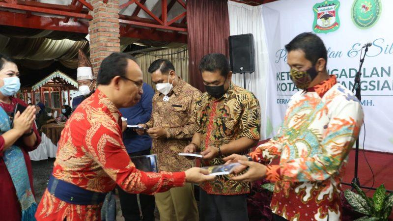 Dipimpin Derman Nababan, Walikota Berharap PN Siantar Lebih Maju dan Profesional