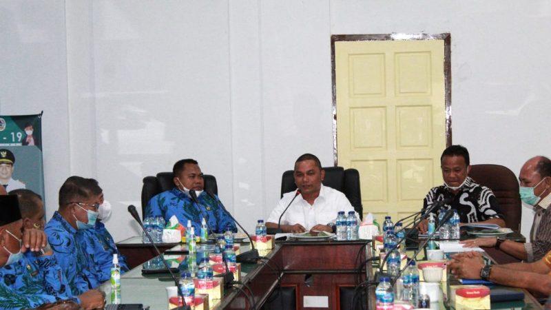 Kunker Bupati Labunsel di Sambut Baik Bupati Tapteng Dalam Rangka Benchmarking