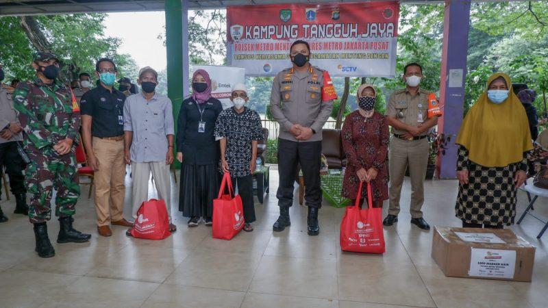 Kapolres Metro Jakarta Pusat Bersama Tiga Pilar Gelar Bhakti Sosial