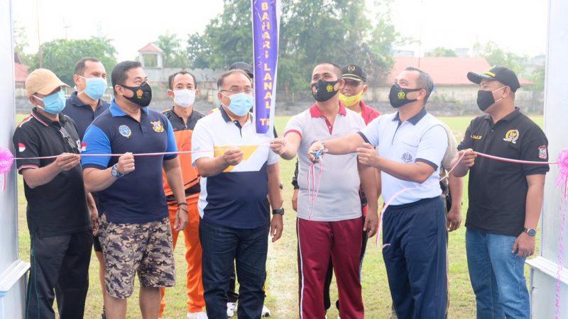 Kapolres Tanjungbalai Hadiri Grand Launching SSB Putra Bahari Lanal TBA
