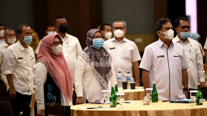 Pemprov Sumut Sesuaikan Target RPJMD 2019-2023 Sabrina : Visi dan Misi Pembangunan Sumut Harus Tetap Terwujud