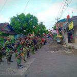 Satgas TMMD ke-111 Kodim 0735/Surakarta dan Warga Awali Kegiatan dengan Apel Pengecekan