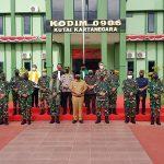 AKBP Arwin Amrih Wientama Hadiri Kegiatan Penilaian Lomba Bina Teritorial di Kodim 0906/KKR