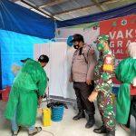 Gerai Vaksin TNI-Polri untuk Masyarakat oleh Jajaran Polres Kutai Kukar