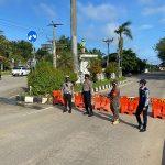 Polres Kutai Kartanegara Melakukan Pengalihan Arus dan Penutupan Jalan