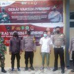 Gerai Vaksin TNI-Polri untuk Masyarakat oleh Jajaran Polres Kukar