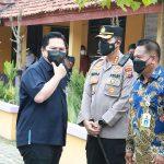 Kapolresta Tangerang Amankan Kegiatan Kunjungan Kerja Menteri BUMN