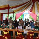 Kombes Pol Wahyu Sri Bintoro Tinjau Pelaksanaan Vaksinasi di Kampus STTM Muhammadiyah